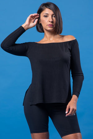 CAIDENCE TOP [BLACK]