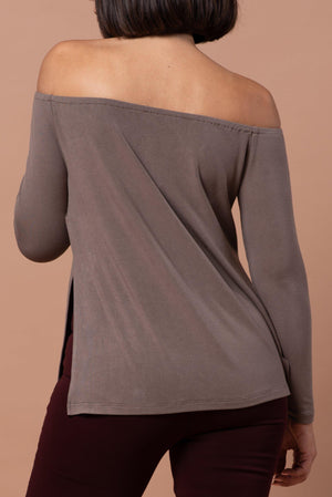 CAIDENCE TOP [BROWN]