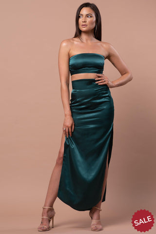 CARA SKIRT [EMERALD GREEN]