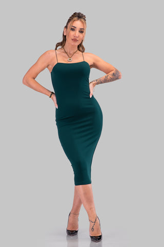CAROLINA DRESS [GREEN]