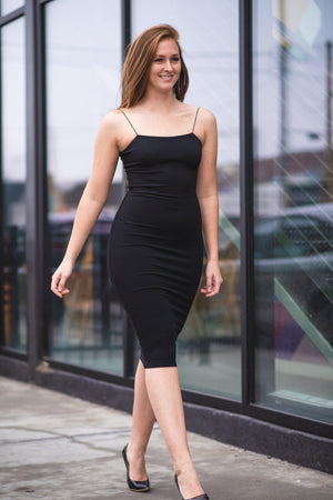 CAROLINA DRESS [BLACK]