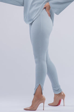 CHERRY LEGGINGS [BLUE]