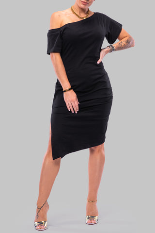 COURTNEY DRESS [BLACK]