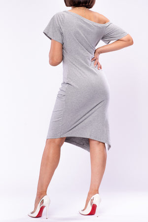 COURTNEY DRESS [GREY]