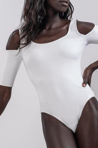 DEMI BODYSUIT [WHITE]