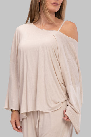 DESIREE TOP [GRAY]