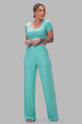 DIEYNABA PANT SET [MINT]