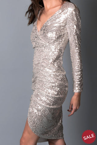 FRANCESCA SEQUIN DRESS