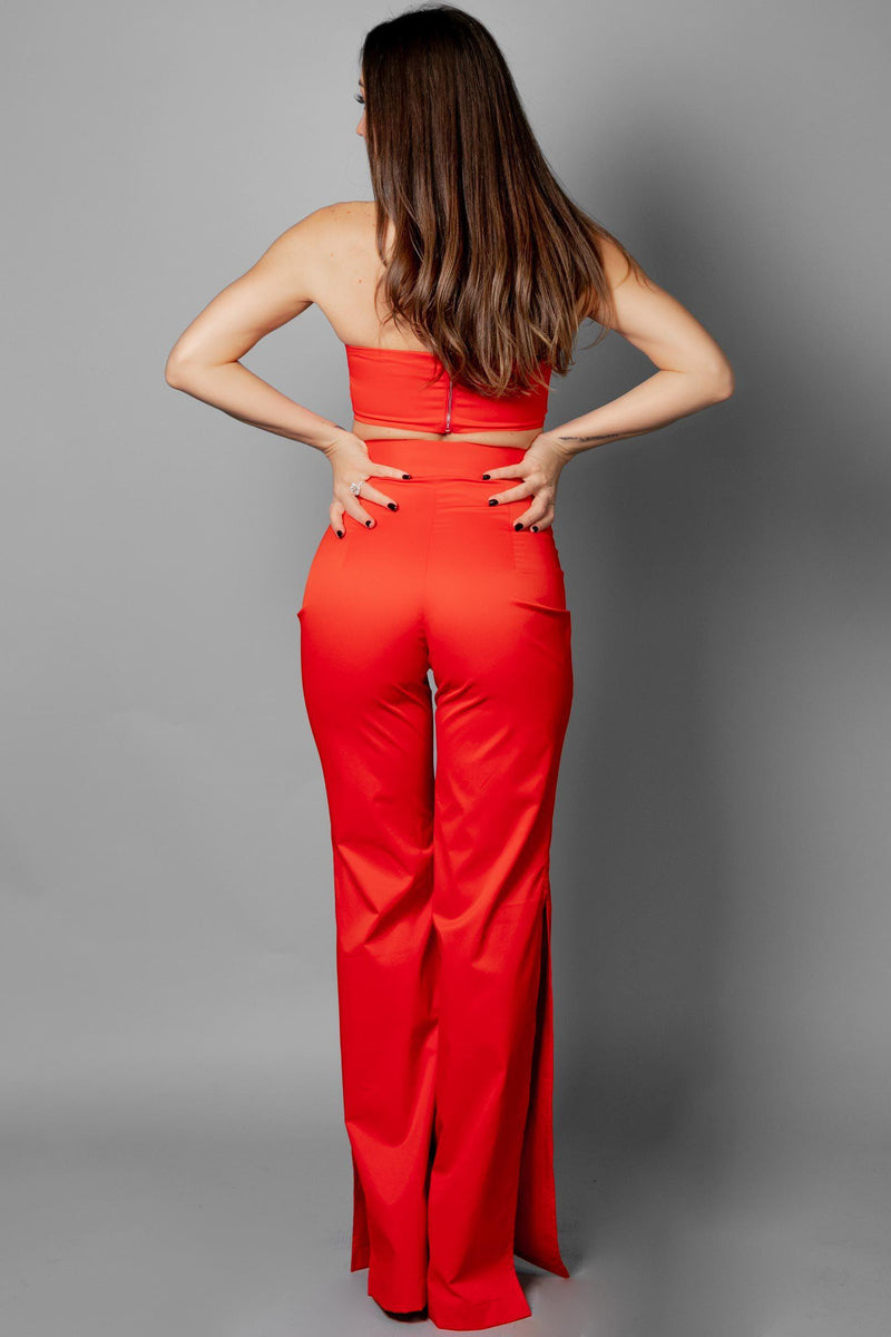 CORA PANTS [RED]