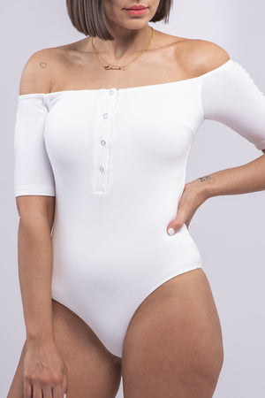 ELLIE BODYSUIT [WHITE]