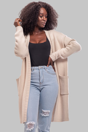 ELVIRA CARDIGAN [CREAM]
