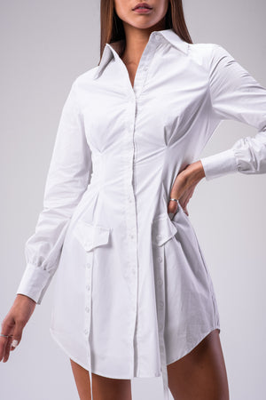 EMERSON DRESS [WHITE]