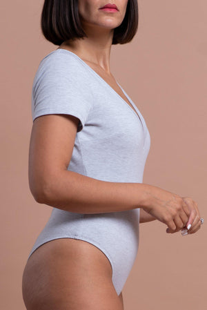 EMILY BODYSUIT [GRAY]