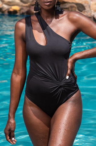 ESSIE BODYSUIT/SWIM [BLACK]