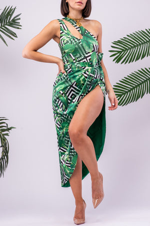 ESSIE BODYSUIT/SWIM [TROPICAL]
