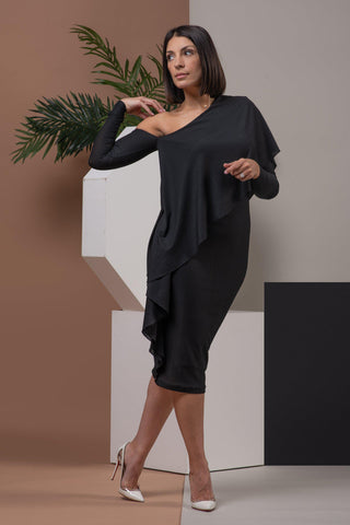 ESTELLE DRESS [BLACK]