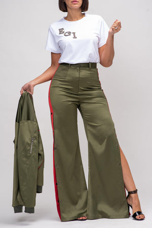 EVE TRACK PANT [GREEN]