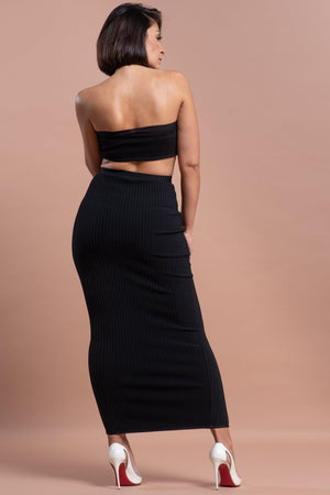 GINA SKIRT [BLACK]