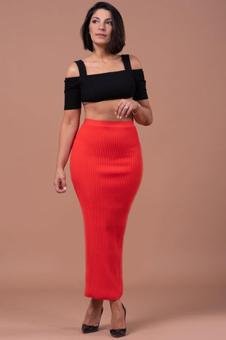 GINA SKIRT [RED]