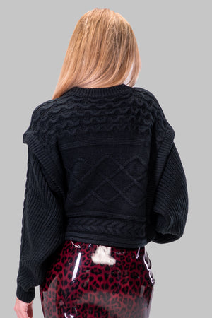 GLENDA SWEATER [BLACK]