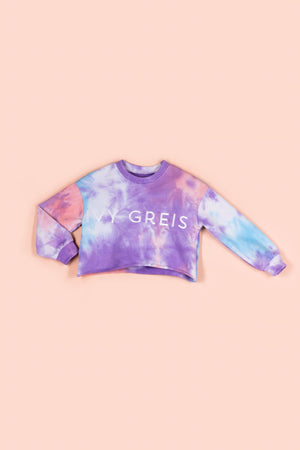 IVY KAI SWEATSHIRT [PURPLE TIE DYE]