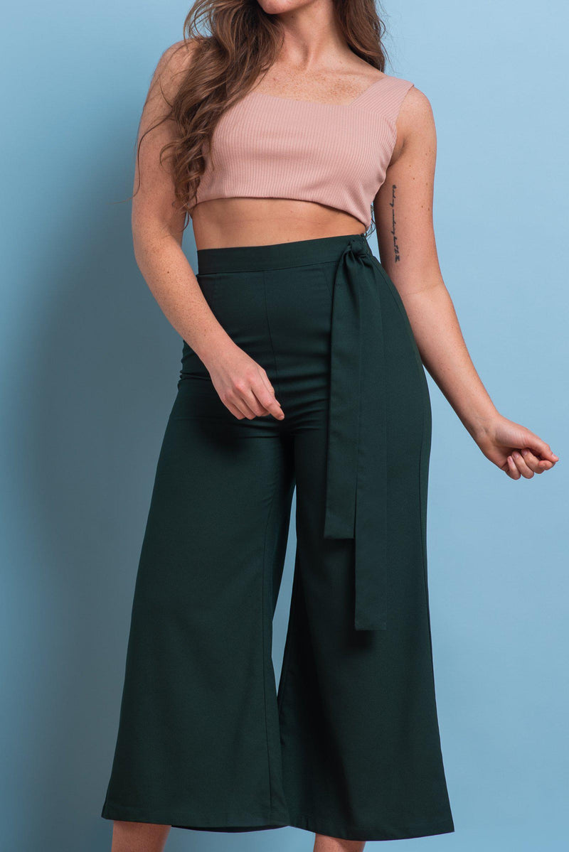 IVY PANTS [FOREST GREEN]