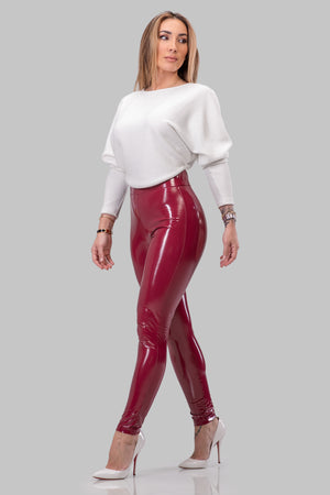 JENESSA LEGGINGS [WINE]
