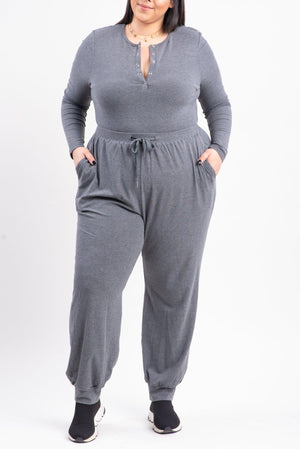 JULIANA JUMPSUIT 2.0 [GRAY]