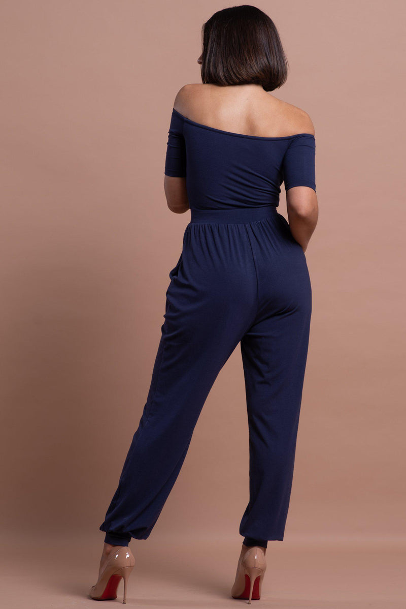 JULIANA JUMPSUIT [NAVY]