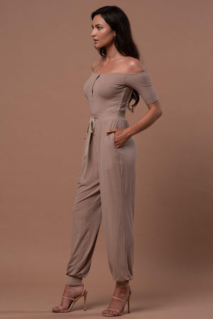 JULIANA JUMPSUIT [MOCHA]