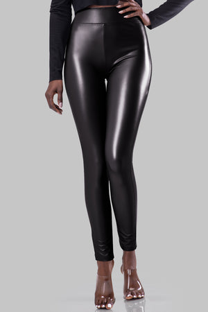 JUSTINE LEGGINGS [BLACK]