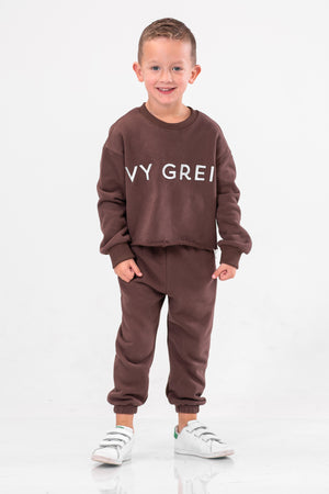 IVY KAI JOGGERS [BROWN]