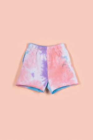 IVY KAI SHORTS [PURPLE TIE DYE]