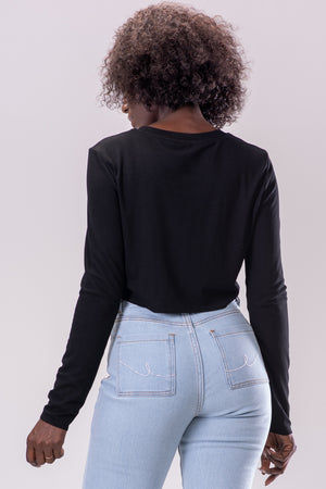 KARISSA TOP [BLACK]