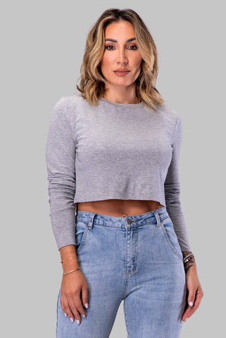 KARISSA TOP [GRAY]