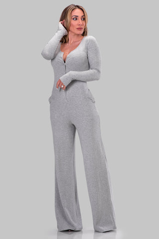 KATRINA JUMPSUIT [GREY]