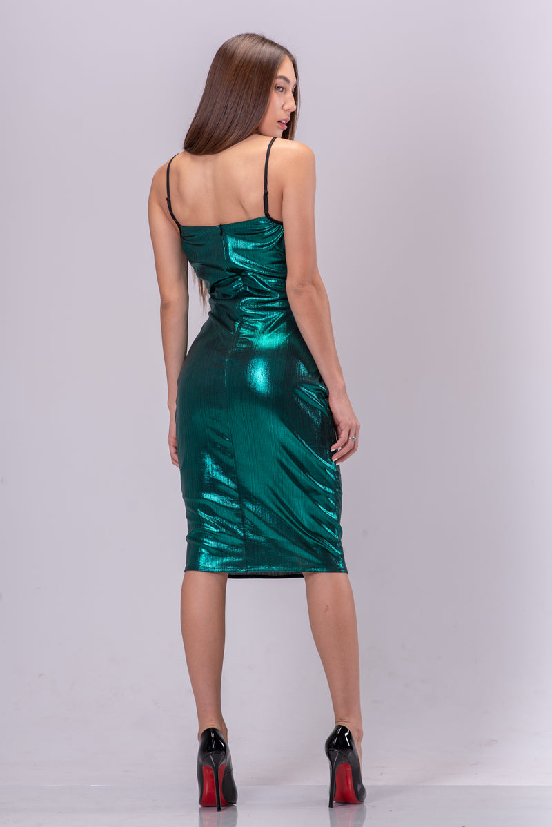 KEHLANI DRESS [EMERALD]