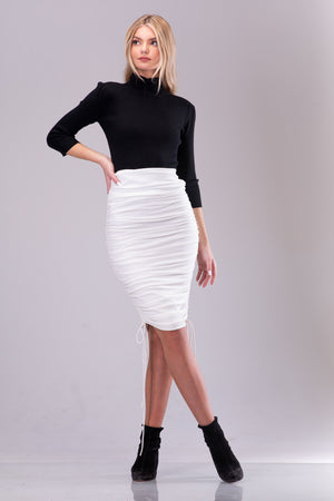 KENDALL SKIRT [WHITE]