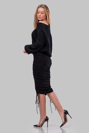 KENDALL SKIRT [BLACK]