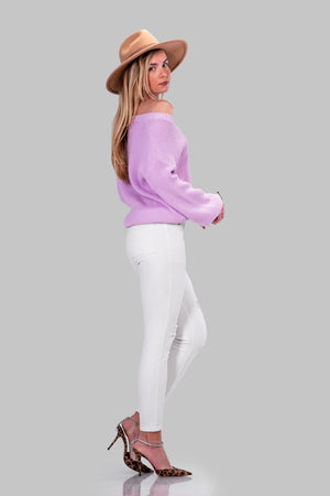 KERSTIN SWEATER [PURPLE]