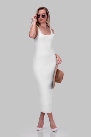 LAURIE DRESS [WHITE]