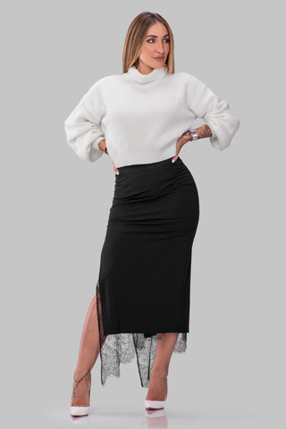 MEG SWEATER [CREAM]