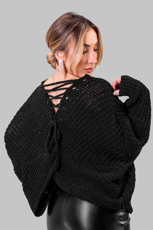 LENNY SWEATER [BLACK]