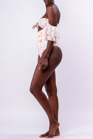 LILLIAN BODYSUIT/SWIM [FLORAL]
