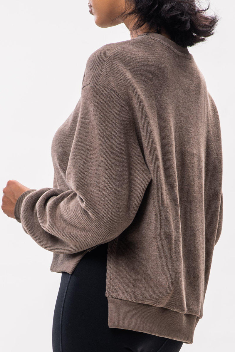 LINNETTE SWEATER (TAUPE)
