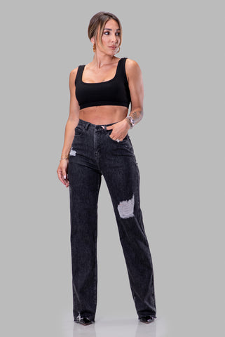 MAGGIE JEANS [BLACK]