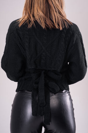 MARCI SWEATER [BLACK]