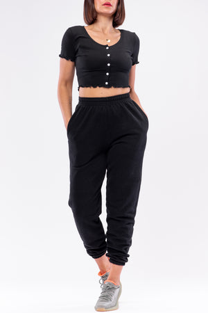 MARGO TOP [BLACK]