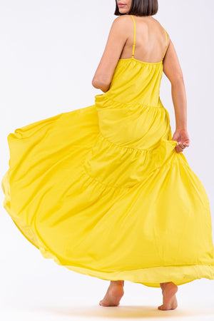 MARIAN DRESS [YELLOW]