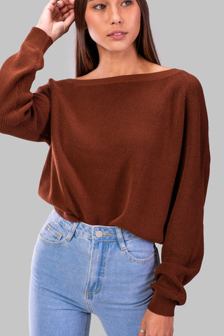 CLEO SWEATER [GRAY]